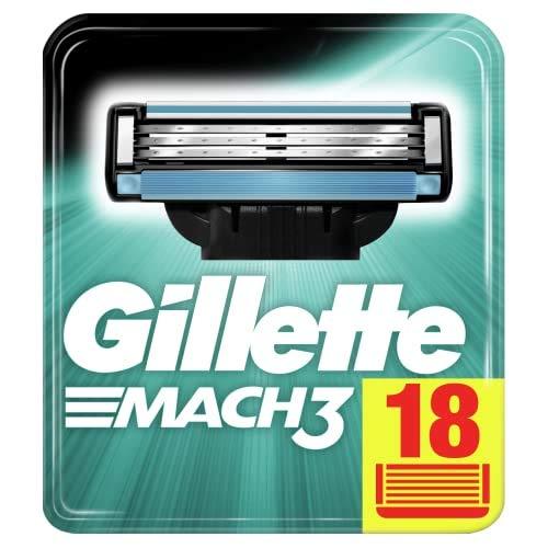Gillette Mach3 Rasierklingen für Männer, 18...