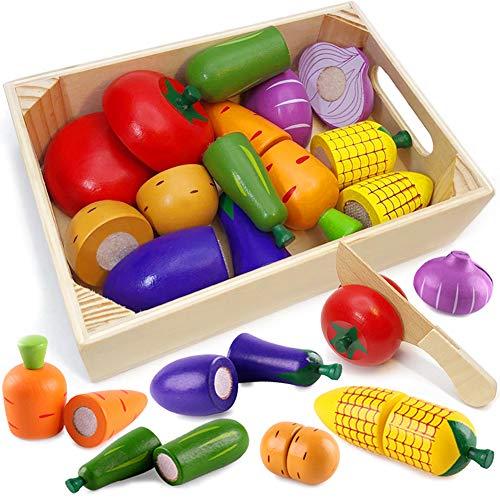 Airlab Küchenspielzeug für Kinder aus Holz,...
