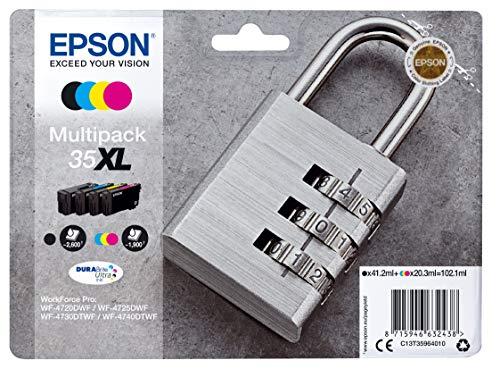 Epson Original 35XL Tinte Schloss (WF-4720DWF...
