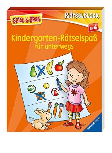 Kindergarten-Rätselspaß für unterwegs (Spiel &...