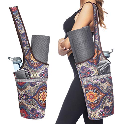 Ewedoos Yoga Taschen aus Baumwoll-Canvas für...