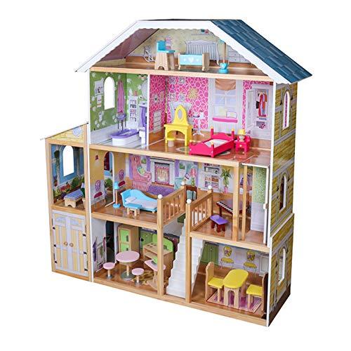 Infantastic® Puppenhaus aus Holz - XXXL, 4...