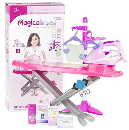 Haushaltsset für Kinder - Bügeleisen mit...