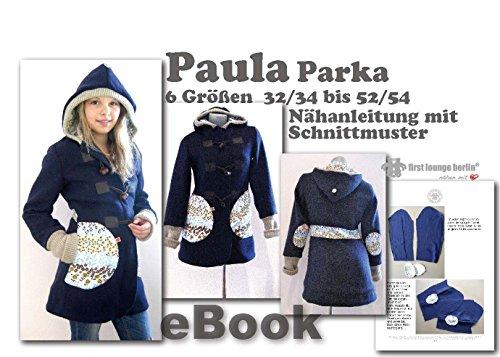 Paula Nähanleitung mit Schnittmuster auf CD für...