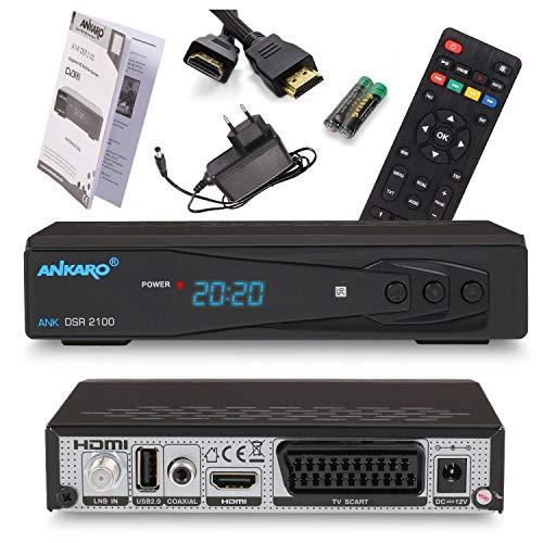 Ankaro 2100 DSR Sat Receiver - HD Satelliten...