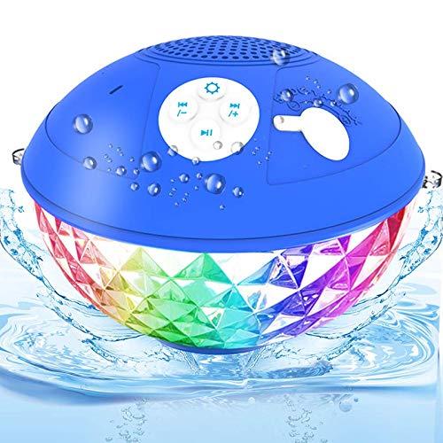 Bluetooth Pool Lautsprecher, IPX7 Wasserdicht...