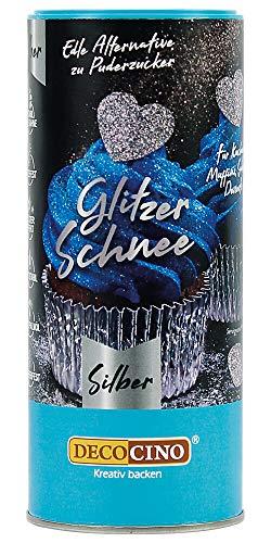 Dekoback Glitzer-Schnee silber (100 g) -...