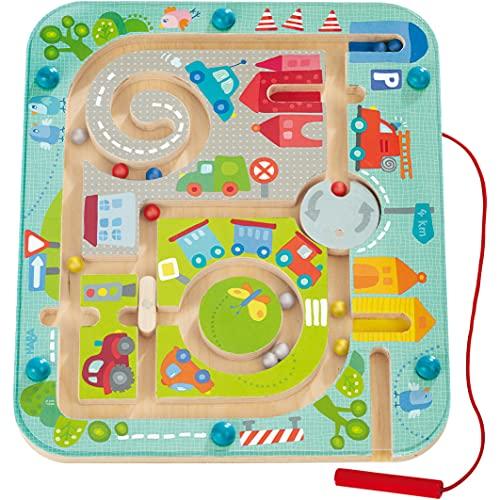 Haba 301056 - Magnetspiel Stadtlabyrinth,...