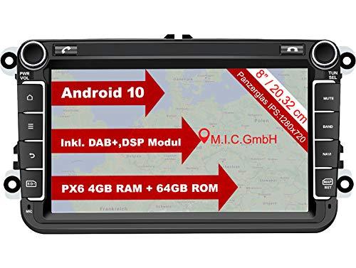 M.I.C. AV8V6 Android 10 Autoradio mit navi Ersatz...