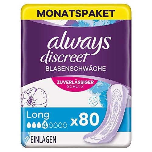 Always Discreet Inkontinenzeinlagen Long (80...