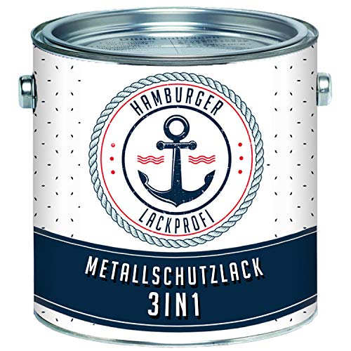 Metallschutzlack 3in1 SEIDENMATT Anthrazitgrau RAL...