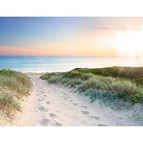 Fototapete Strand und Meer Sonnenuntergang 352 x...