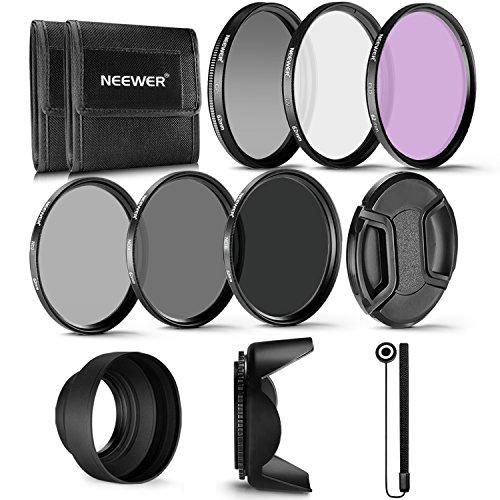 Neewer 62-mm-Filter Professioneller UV-, CPL-,...
