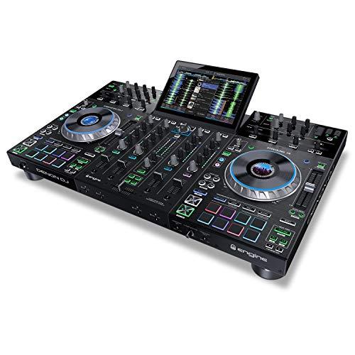 Denon DJ Prime 4   4 Deck Standalone Smart DJ...
