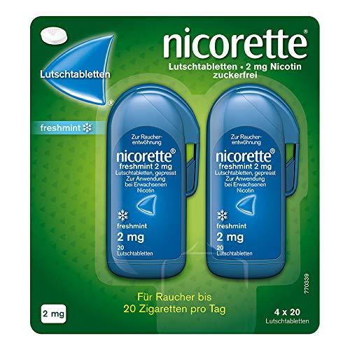 NICORETTE Lutschtabletten mit 2 mg Nikotin –...