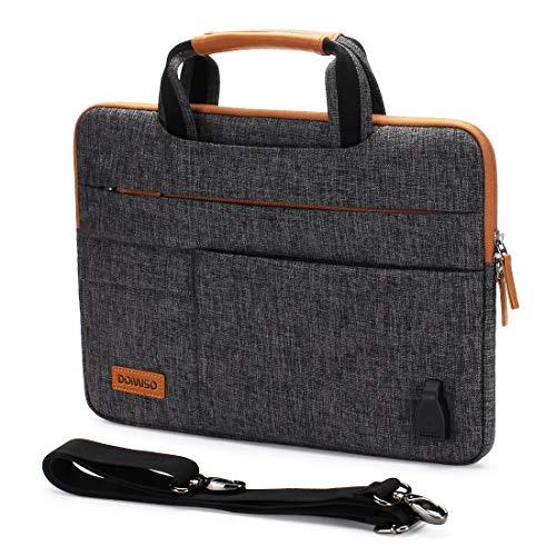 DOMISO 14 Zoll Wasserdicht Laptop Tasche...
