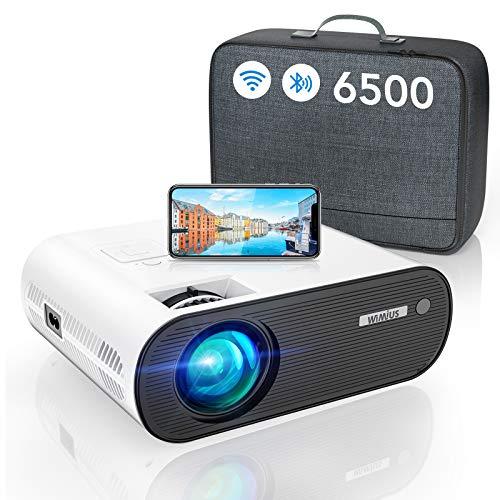 WiFi Bluetooth Beamer, WiMiUS LED Video Beamer...