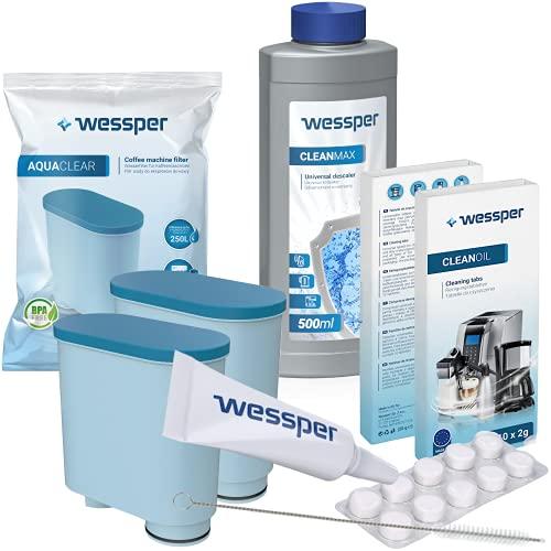 Wessper Rundum-Pflegeset für Kaffeevollautomaten...