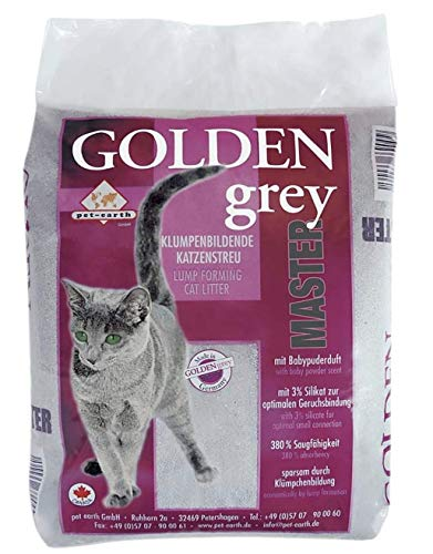 pet-earth Golden Grey Master Katzenstreu mit...