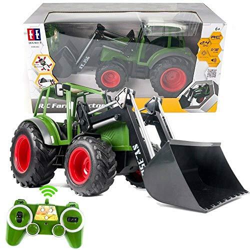 s-idee® S356 RC Traktor 1:16 mit 2,4 GHz...