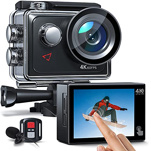 AC920 Action cam Touchscreen-Actionkamera 4K 60FPS...