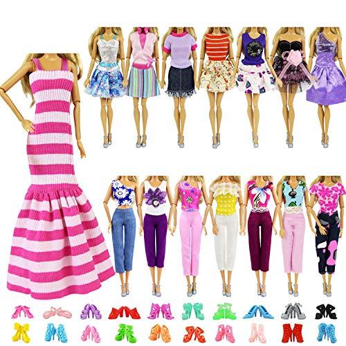 ZITA ELEMENT 10 Stück Kleider Kleidung...