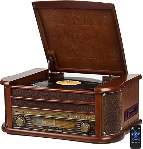 Nostalgie Holz Musikanlage | Bluetooth |...