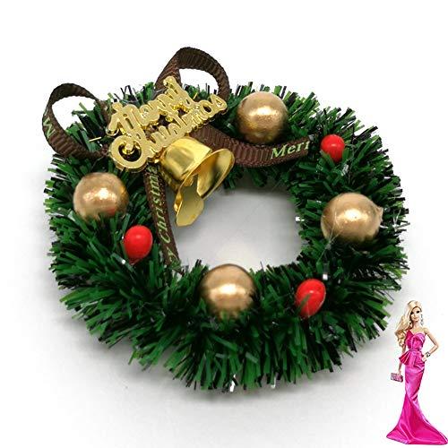 Rocita 6 cm Mini Weihnachtskranz Miniatur Kranz...