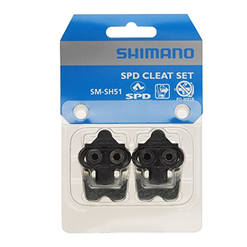 Shimano SM-SH51 Y42498220 Klampen-Satz, Schwarz