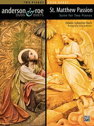 St. Matthew Passion Suite for Two Pianos   Klavier...