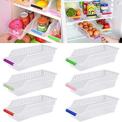 Kühlschrank Organizer, JRing Kühlschrankbox 6...
