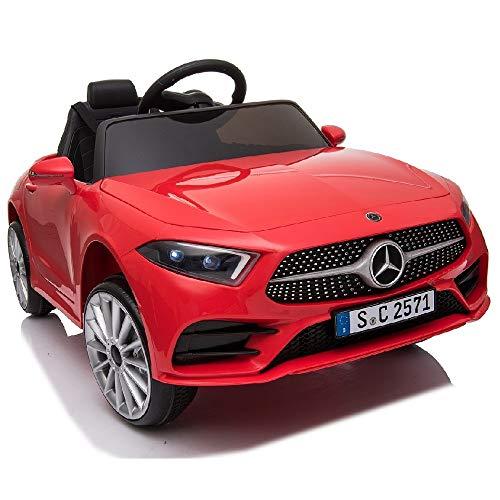 crooza Mercedes-Benz CLS350 Kinderauto Rot Kinder...