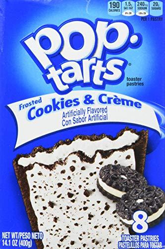 Kelloggs Pop Tarts - Frosted Cookies & Cream...