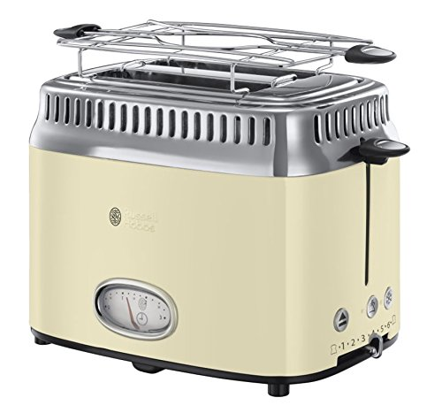 Russell Hobbs Toaster Retro creme, Retro...
