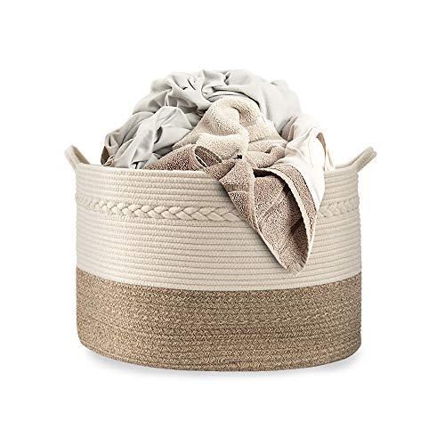Cotton Coming Große Baumwolle Seil Korb,...