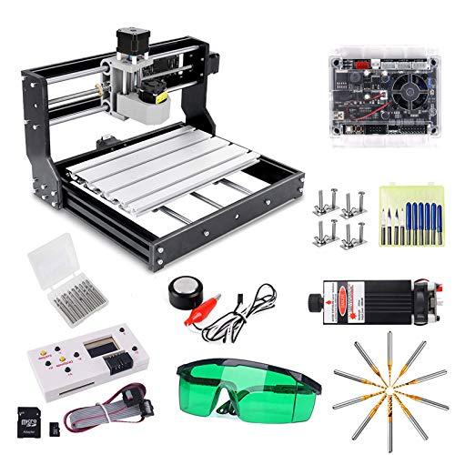 CNC 3018 Pro Engraver Fräsmaschine mit 7W...