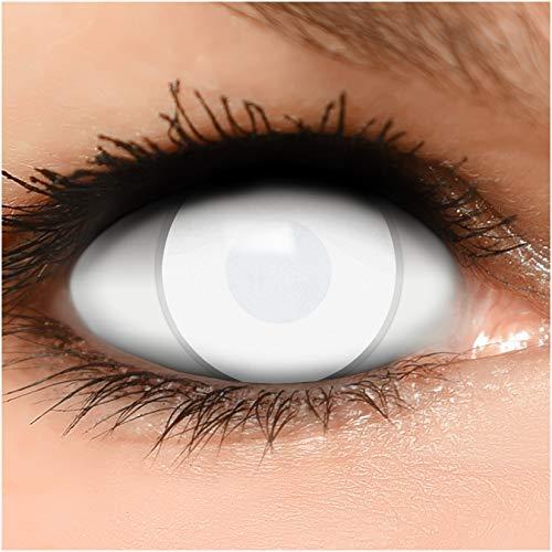 Farbige Kontaktlinsen Dead Zombie in komplett...
