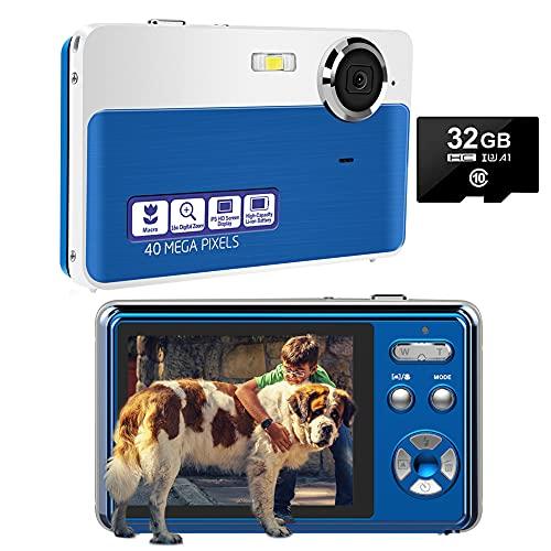 Digitalkamera Kompaktkameras 40MP 16X Digital Zoom...