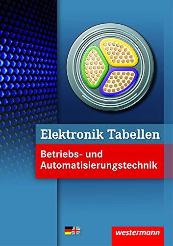 Elektronik Tabellen Betriebs- und...