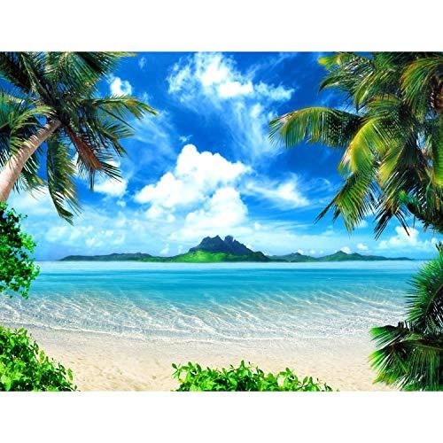 Runa Art Fototapete Strand und Meer Modern Vlies...