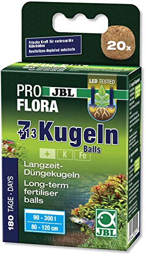JBL Die 7 + 13 Kugeln 20111, Wurzeldünger für...