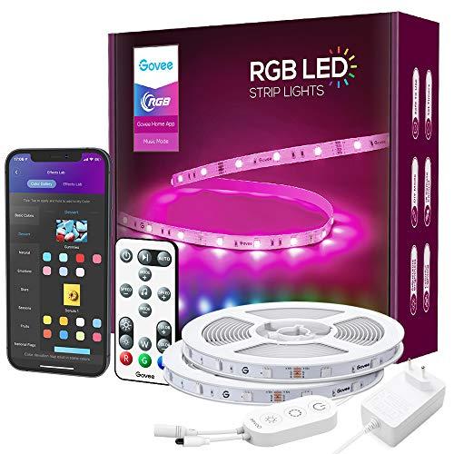 Govee LED Strip RGB 15m Alexa LED Streifen Smart...