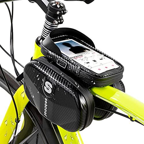 Seacool Rahmentasche Fahrrad, Wasserdicht...
