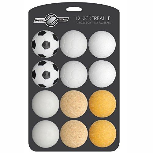 GOODS+GADGETS 12x Stück Speedball Kickerbälle...