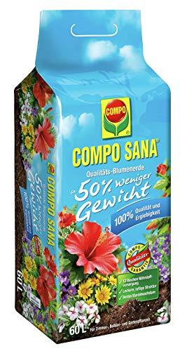Compo SANA Qualitäts-Blumenerde ca. 50% weniger...