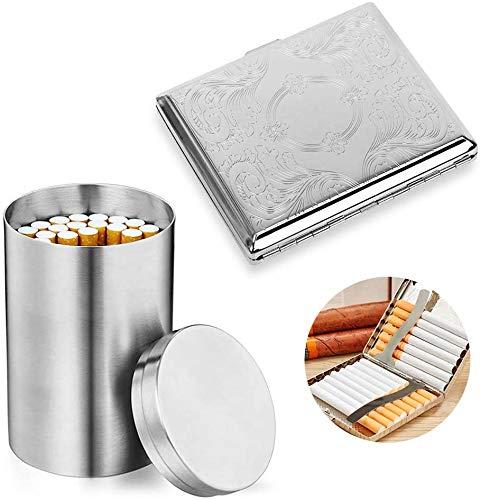SteelFever Edelstahl Metall zigarettenetui...