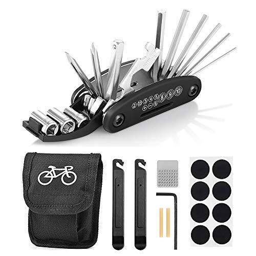 Fahrrad-Multitool, Migimi 16 in 1 Werkzeuge für...