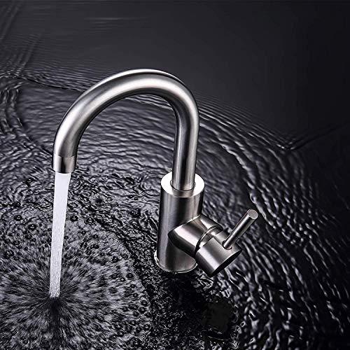 GAVAER Wasserhahn Bad, 360 ° Drehbar Bad Armatur,...