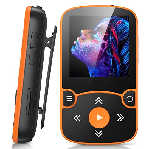 AGPTEK MP3 Player Bluetooth 5.0 Sport 32GB mit 1,5...