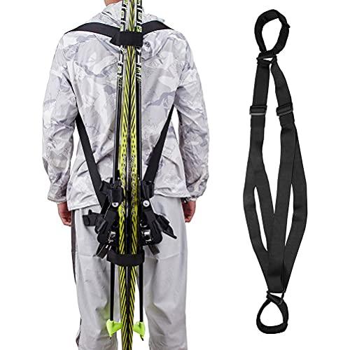 WINBST Ski Tote, Ski Tragegurt,Ski und Pole...